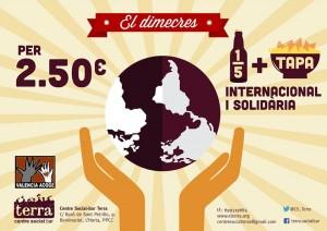 > 1/5 + tapa Internacional i Solidària